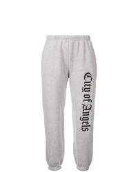 Pantalón de chándal estampado gris de Adaptation