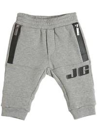 Pantalón de chándal estampado gris de John Galliano