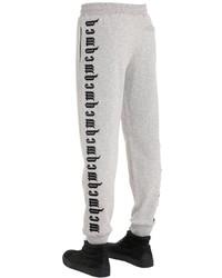 Pantalón de chándal estampado gris de McQ by Alexander McQueen