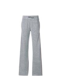 Pantalón de chándal gris de Agnona
