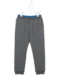 Pantalón de chándal gris de Armani Junior