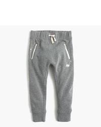 Pantalón de chándal gris de J.Crew