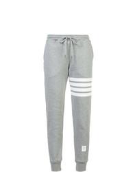 Pantalón de chándal gris de Thom Browne