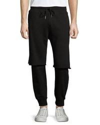 Pantalón de chándal negro de Diesel