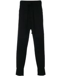 Pantalón de chándal negro de Helmut Lang