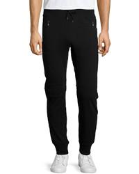 Pantalón de Chándal Negro de John Varvatos