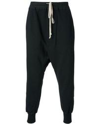 Pantalón de chándal negro de Rick Owens