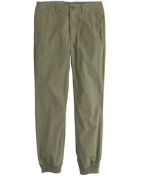 Pantalón de chándal verde oliva de J.Crew
