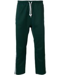 Pantalón de chándal verde oscuro de adidas