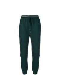 Pantalón de chándal verde oscuro de Lorena Antoniazzi