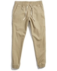 Pantalon de jogging brun clair