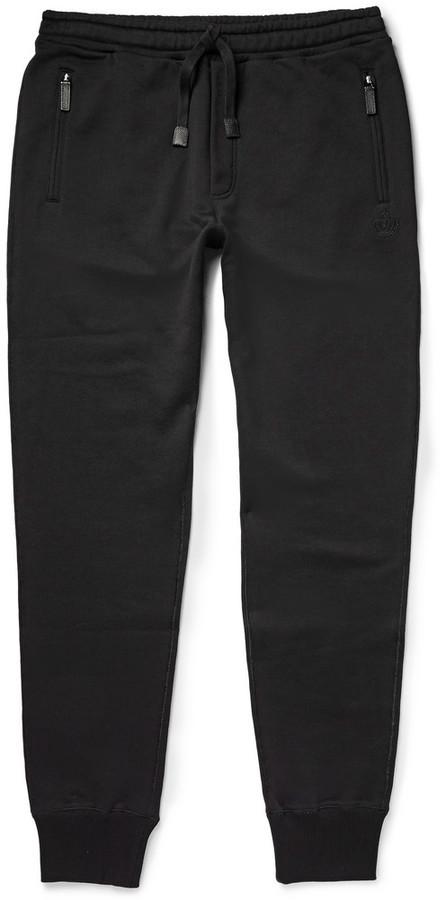 b42aff2e7e3bb5 Pantalon de jogging noir Dolce   Gabbana  Où acheter et comment porter