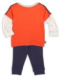 Pantalon de jogging orange