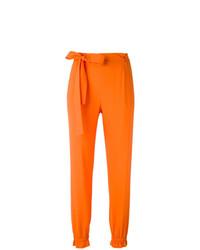 Pantalón de pinzas naranja de MSGM