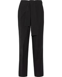 Pantalón de pinzas negro de Chloé
