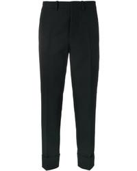 Pantalón de pinzas negro de Marni