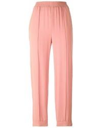 Pantalón de pinzas rosado de Marni