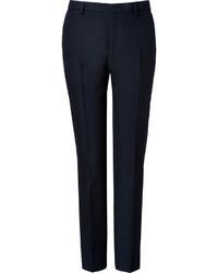 Pantalon de vestir azul marino original 1519629