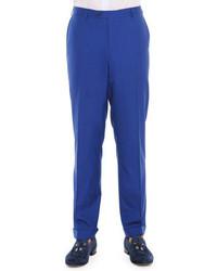 Pantalón de vestir azul de Stefano Ricci