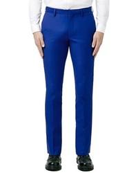 Pantalón de vestir azul de Topman