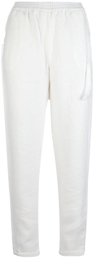 Pantalón de vestir blanco de Elizabeth and James