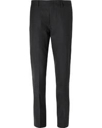 Pantalón de vestir de lana en gris oscuro de J.Crew