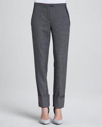 Comprar Un Pantalón De Vestir De Lana En Gris Oscuro Elegir