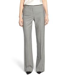 Pantalón de vestir de lana gris de BOSS