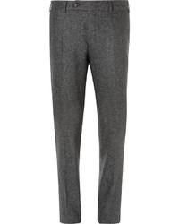 Pantalón de vestir de lana gris de Canali