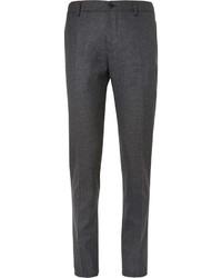 Pantalón de vestir de lana gris de Etro
