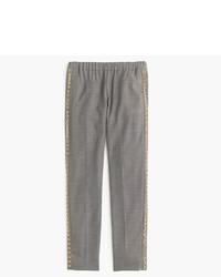 Pantalón de vestir de lana gris de J.Crew