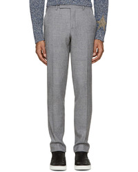 Pantalón de vestir de lana gris de Paul Smith