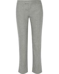 Pantalón de vestir de lana gris de Rag & Bone