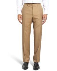 Pantalón de vestir de lana marrón claro de Santorelli