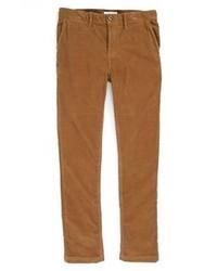 Pantalón de vestir de pana marrón de Burberry