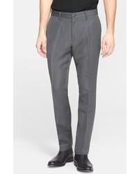 Pantalón de vestir en gris oscuro de John Varvatos