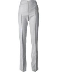 Pantalón de vestir gris de Blumarine