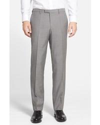Pantalón de vestir gris de BOSS
