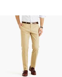 Pantalón de vestir marrón claro de J.Crew
