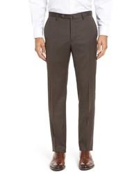 Pantalón de vestir marrón de Incotex
