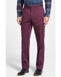 01a1bdcde7 Comprar un pantalón de vestir morado Hugo Boss