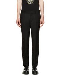 Pantalón de vestir negro de Alexander McQueen