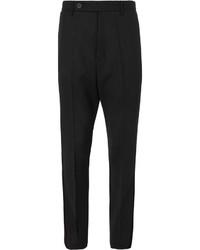 Pantalón de vestir negro de Rick Owens