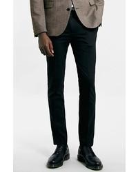 Pantalón de vestir negro de Topman