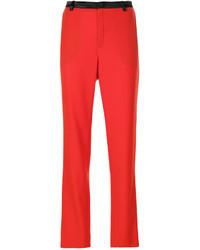 Pantalón de Vestir Rojo de Lanvin