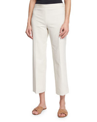 Pantalon flare blanc The Row