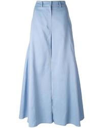 Pantalon flare bleu clair Peter Pilotto