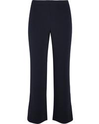 Pantalon flare bleu marine Helmut Lang