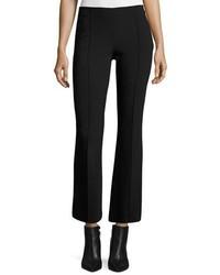 Pantalon flare en laine noir The Row