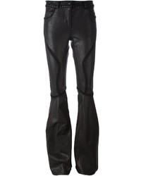 Pantalon flare noir Faith Connexion